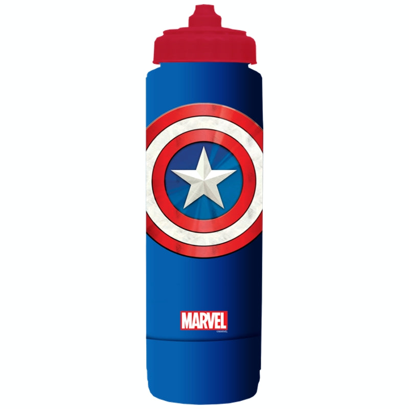 Marvel water bottle 700ml - Captain America