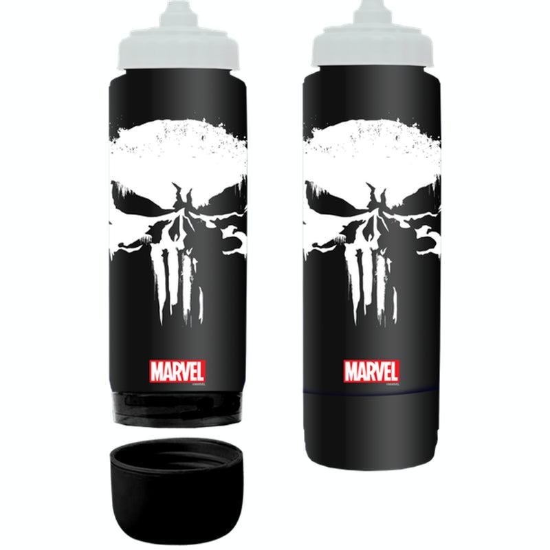 Marvel water bottle 700ml - Punisher Specs