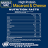 Muscle Mac Macaroni & Cheese protein nutrition facts (2465860911181)