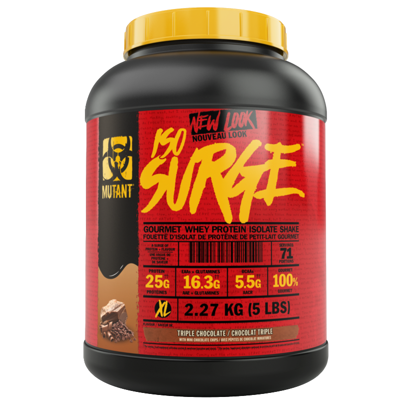 Mutant Iso-Surge Triple Chocolate - 5lb (2465848066125)