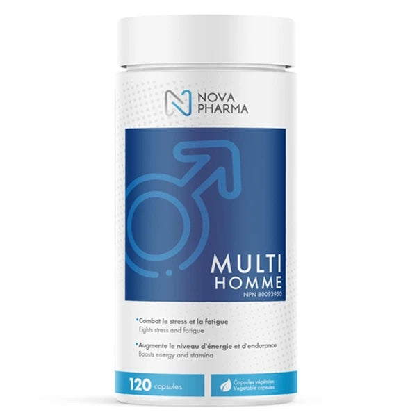 Nova Pharma Multi Vitamins Men - 120 Caps