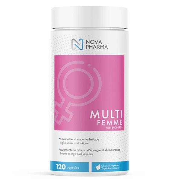 Nova Pharma Multi Vitamins Women - 120 Caps
