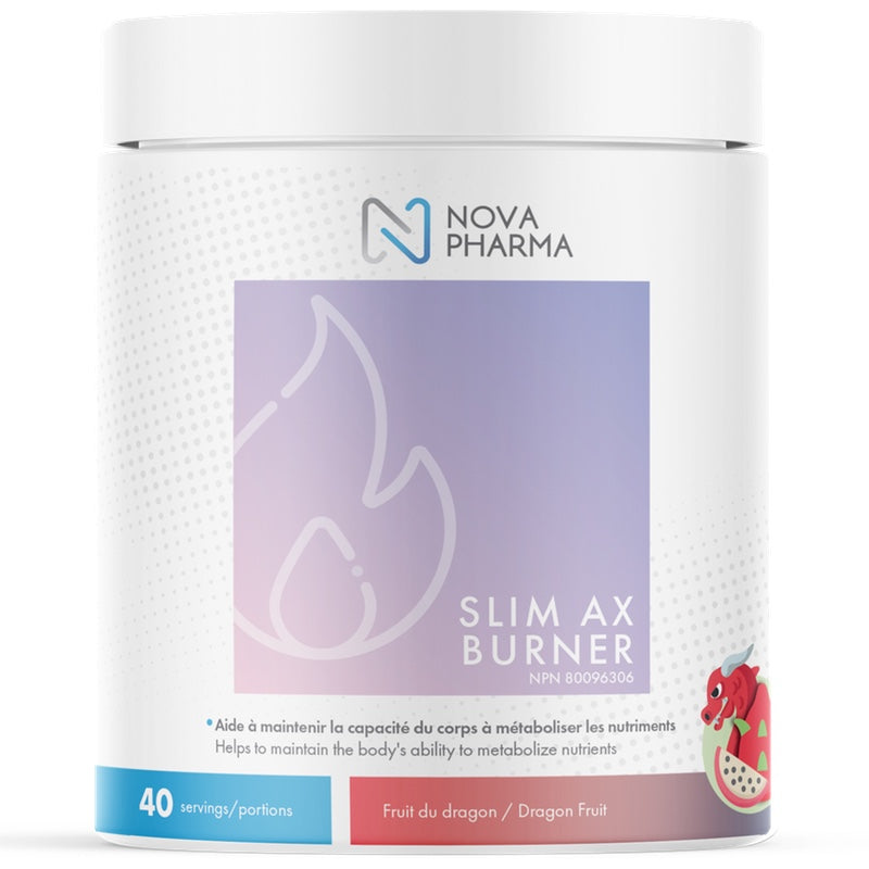 Nova Pharma Slim AX Burner - 40 Servings Dragon Fruit