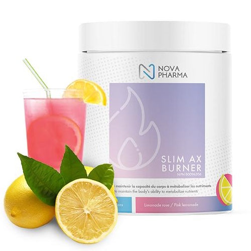 Nova Pharma Slim AX Burner - 40 Servings Pink Lemonade
