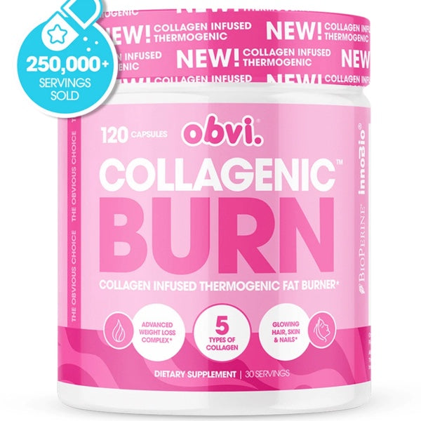OBVI Collagenic Fat Burner - 120 Caps