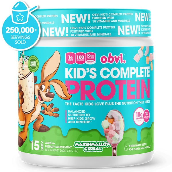OBVI Kid's Complete Protein - 15 Servings Marshmallow