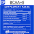 OSMO PHARMA OP BCAA NUTRITION FACTS (2465847083085)