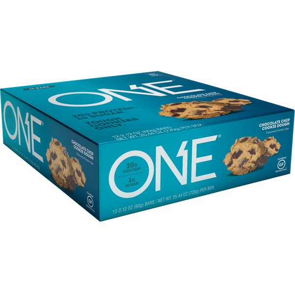 Oh Yeah One - 12 Bars Chocolate Chip Cookie Dough (2465822539853)