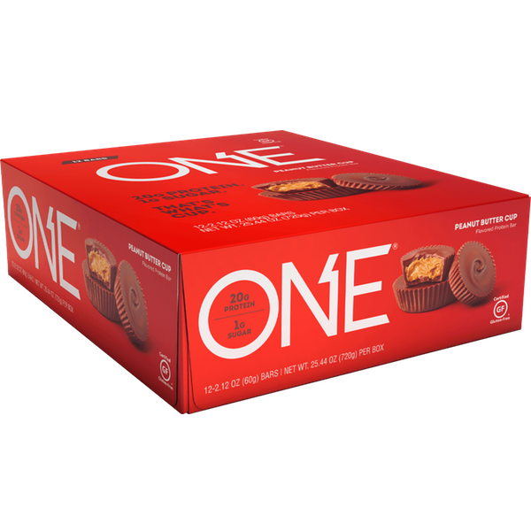 Oh Yeah One - 12 Bars Peanut Butter Cup (2465822539853)