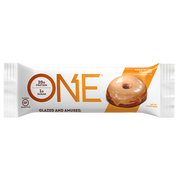 Oh Yeah One - 1 Bar Maple Glazed Doughnut (2465822310477)