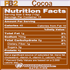 PB2 Powdered Peanut Butter cocoa nutrition facts (4319045288013)