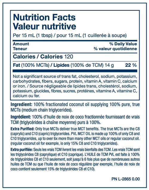 PVL Pure Vita Labs MCT Oil - 946ml nutri (2465830797389)