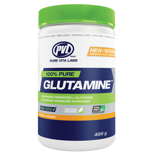 PVL Pure Vita Labs Glutamine - 400g Orange (2465874116685)