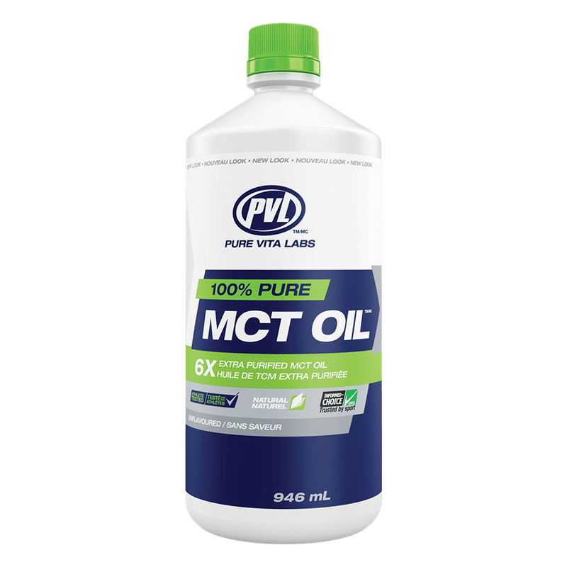 PVL Pure Vita Labs MCT Oil - 946ml (2465830797389)