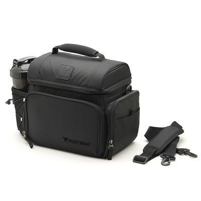 Performa All in One 6 Meal Prep Bag - Black / Black info (2465893187661)