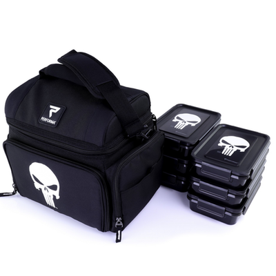 Performa All in One 6 Meal Prep Bag - Punisher (2465893056589)