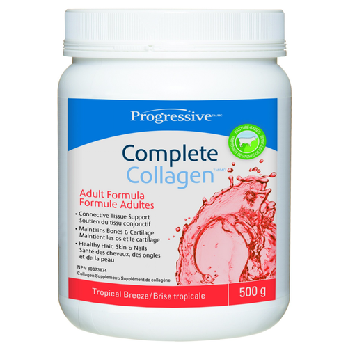 Progressive Complete Collagen - 500g Tropical Breeze (2465852588109)