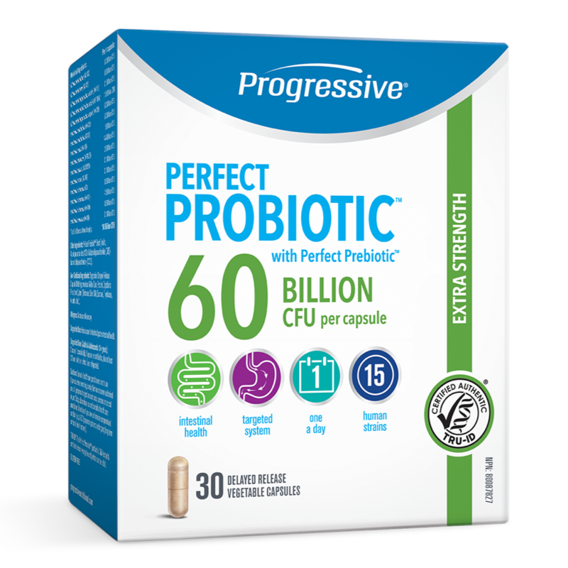 Progressive Perfect Probiotics 60 Billion - 30 caps (2465898496077)