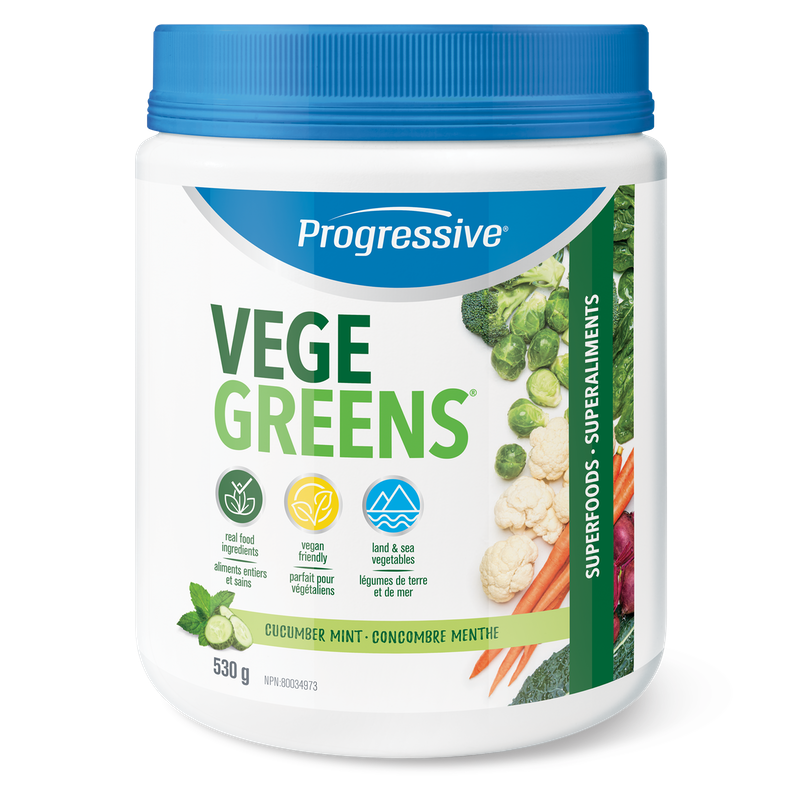 Progressive Vegegreens - 530 gr Cucumber Mint (2465799929933)