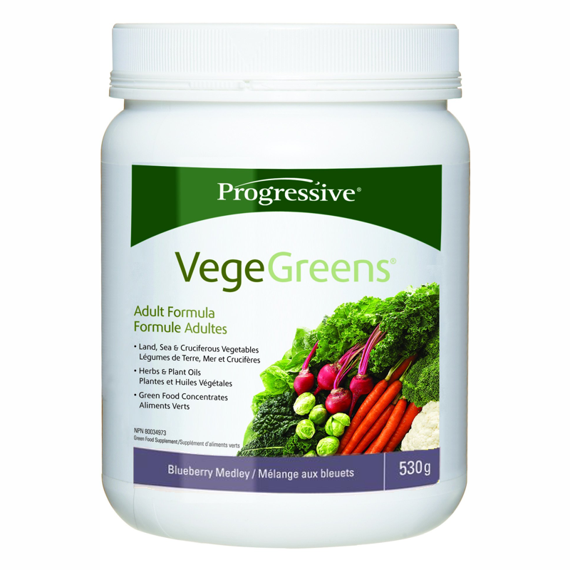 Progressive Vegegreens -blueberry medley 530g
