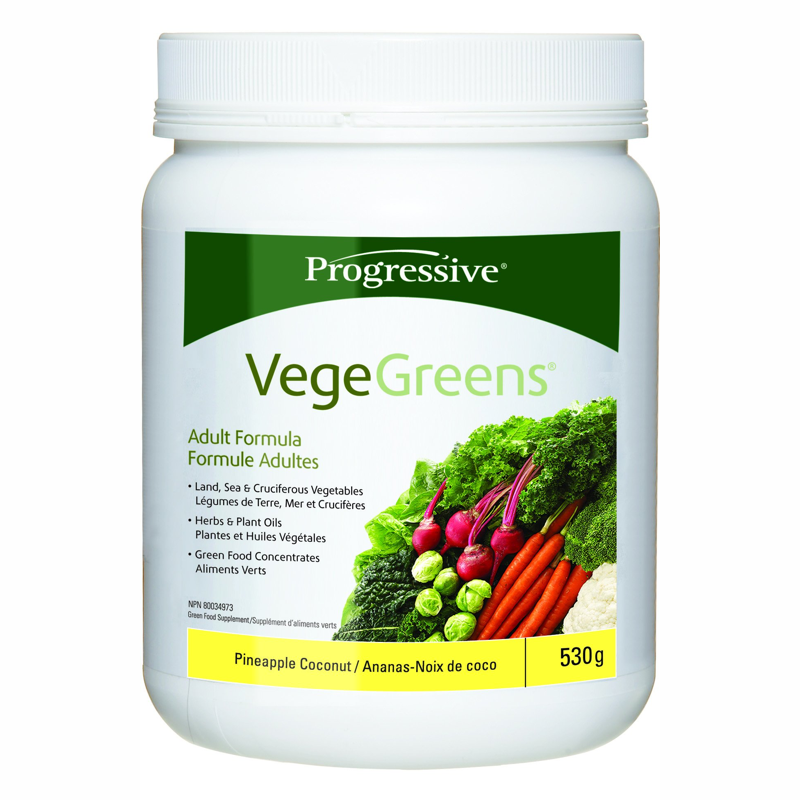 Progressive Vegegreens -pineapple coconut 530g