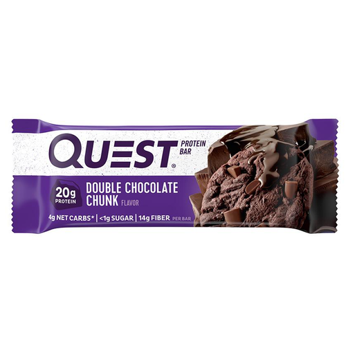 Quest Bars  - 1 Bar Double Chocolate Chunk (2465805500493)
