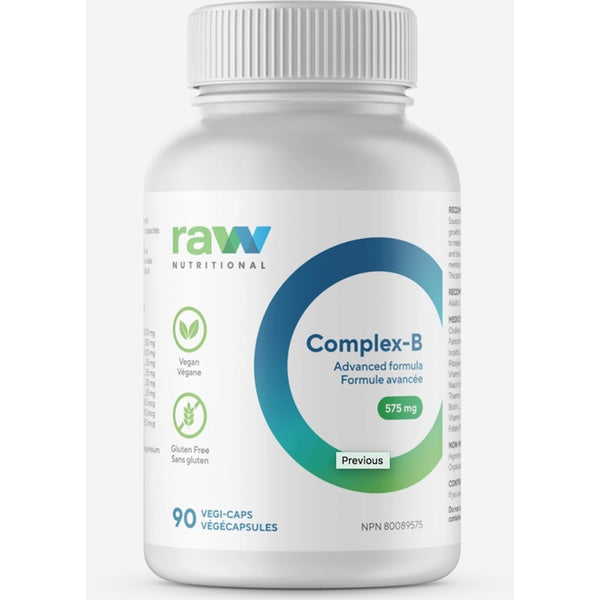 Raw Nutritional B-Complex - 90 Caps