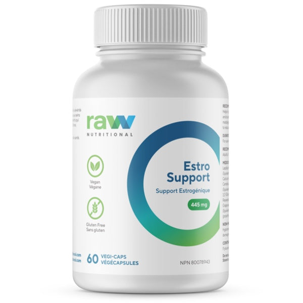 Raw Nutritional Estro Support - 60 Caps