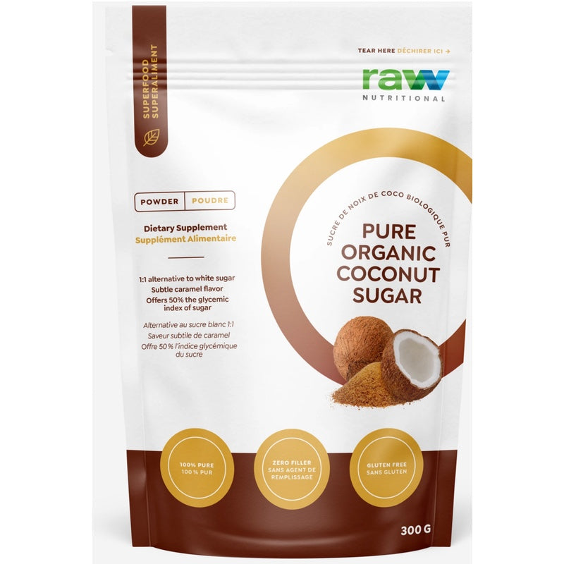 Raw Nutritional Pure Organic Coconut Sugar - 300g