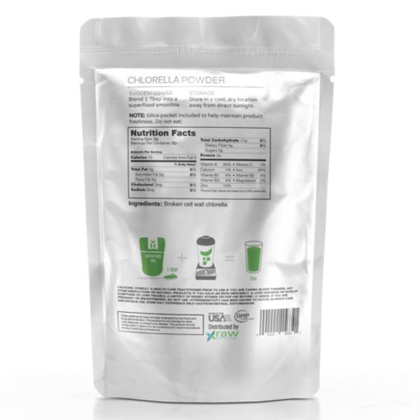 Raw Nutritional Pure Chlorella - 180g nutri