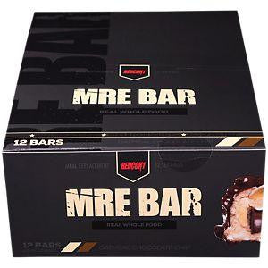 Redcon1 MRE Meal Replacement Bar - 12 Bars Oatmeal Chocolate Chip (2465882472525)
