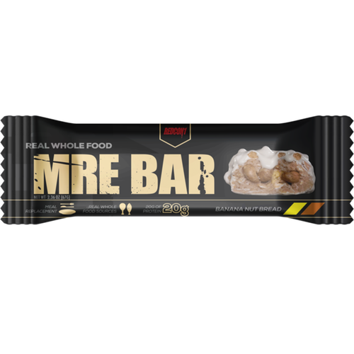 Redcon1 MRE Meal Replacement Bar - 1 Bar Banana Nut Bread (2465882570829)