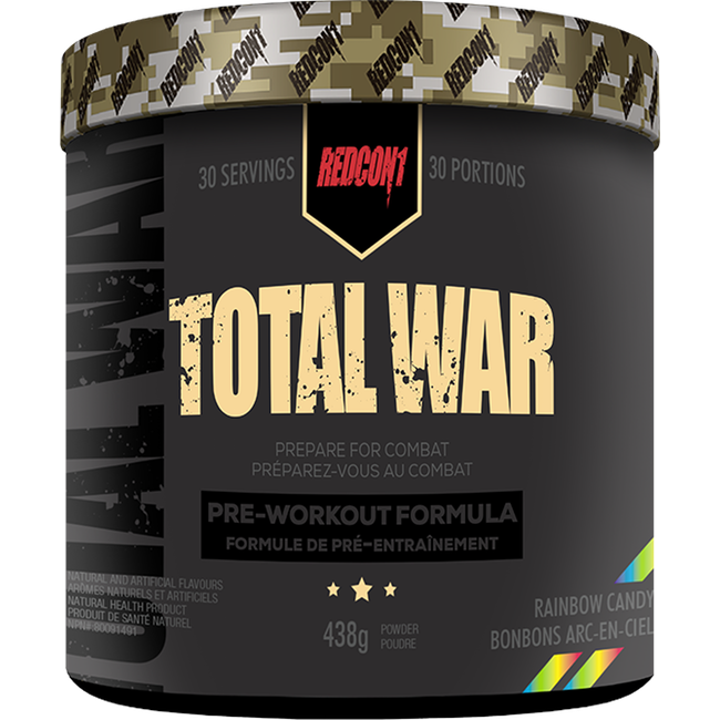 Redcon1 Total War - 30 Servings Rainbow Candy (3587146186829)