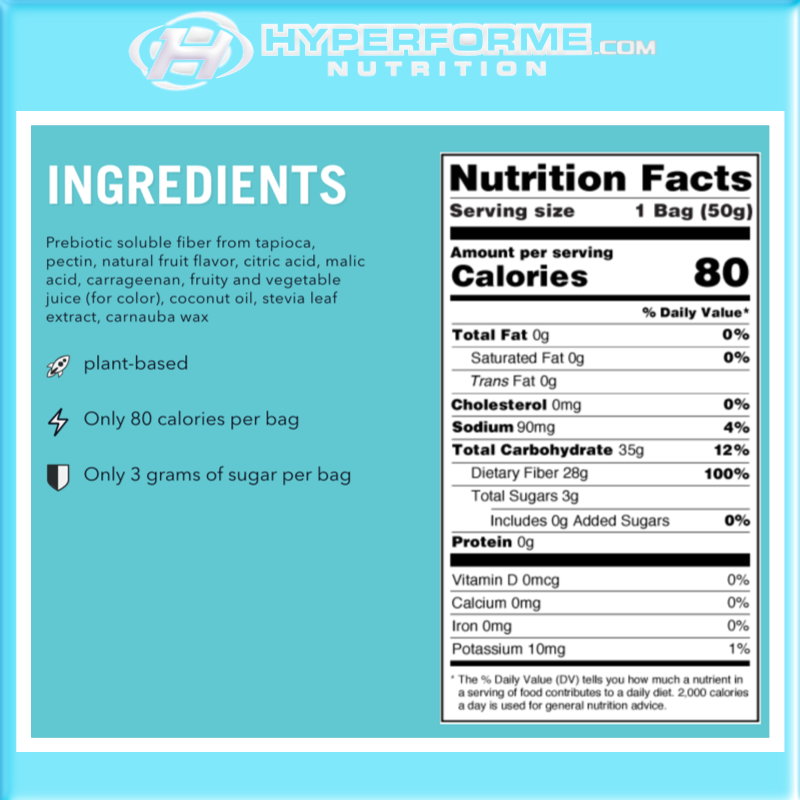 Smart Sweets - sweet fish nutrition facts (2465884373069)