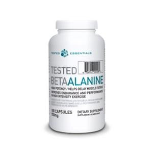 Tested Beta-Alanine 750mg - 180 caps (2465813233741)