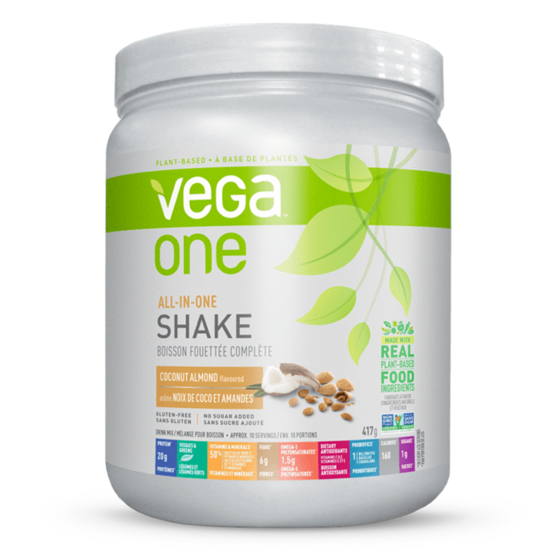 Vega One All-in-One Shake coconut almond (2465837285453)