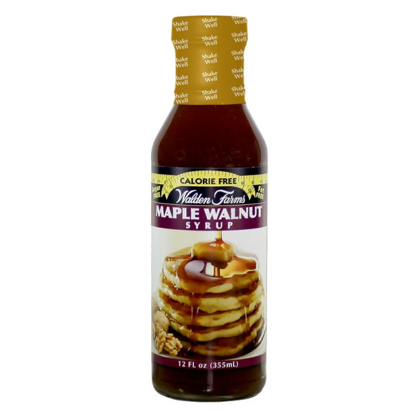Walden Farms Syrup calorie free maple walnut (2465848197197)
