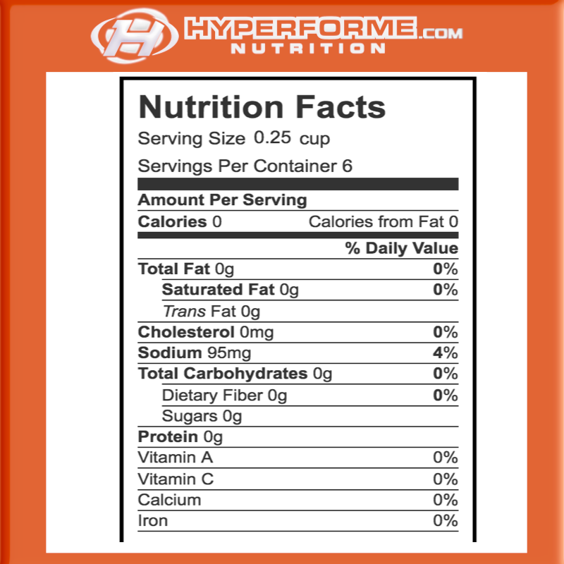 Walden Farms Syrup calorie free nutrition facts (2465848197197)