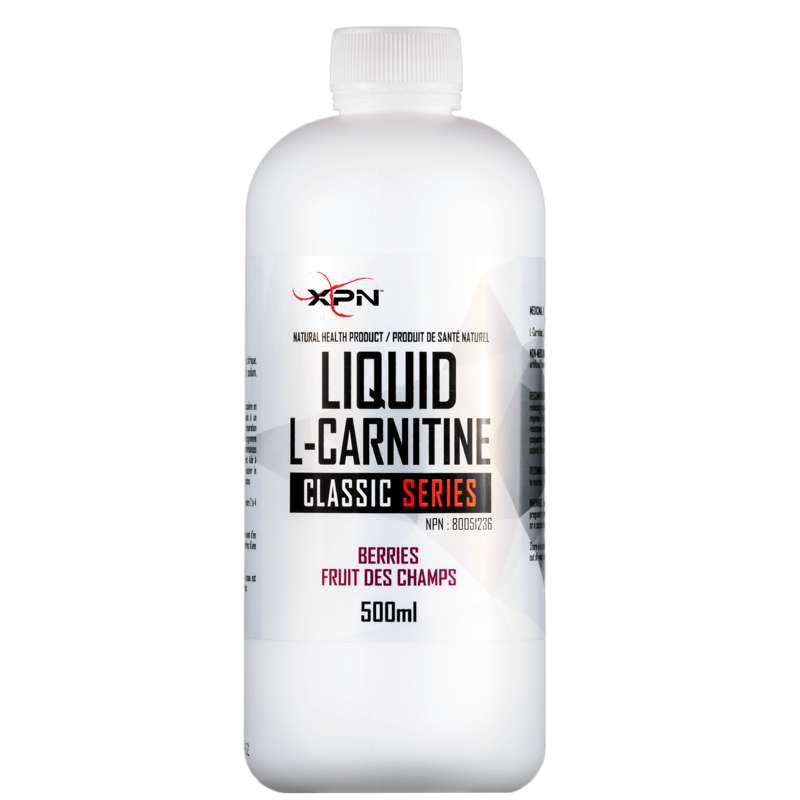 XPN Liquid L-Carnitine Berries - 500ml - XPN - Hyperforme.com