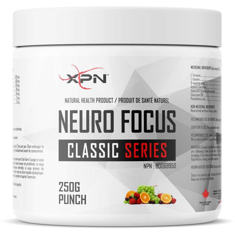 XPN Neuro Focus Punch - 250g - XPN - Hyperforme.com