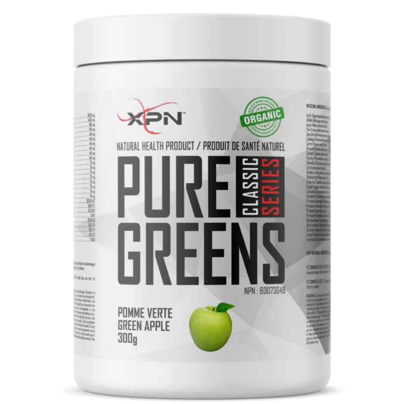 XPN Pure Greens  green apple- 300g