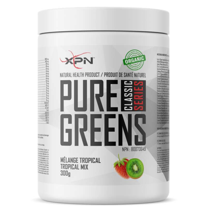 XPN Pure Greens - 300g - XPN - Hyperforme.com