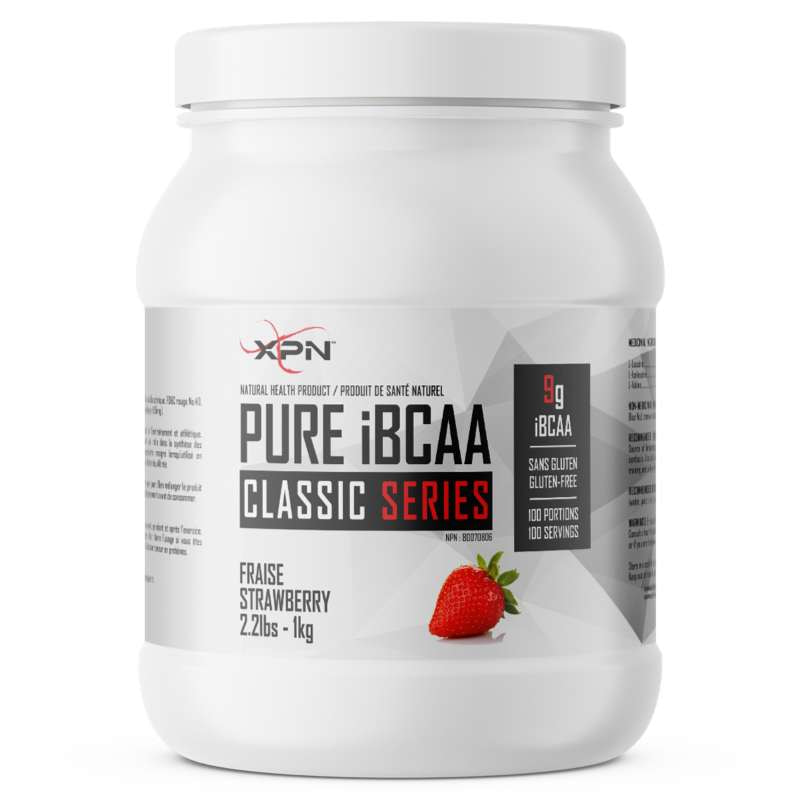 XPN Pure iBCAA Strawberry- 1KG (2465889550413)