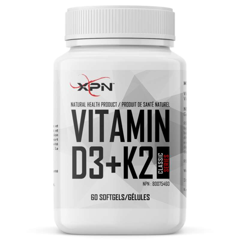 XPN Vitamin D3+K2 - 60 Softgels - XPN - Hyperforme.com