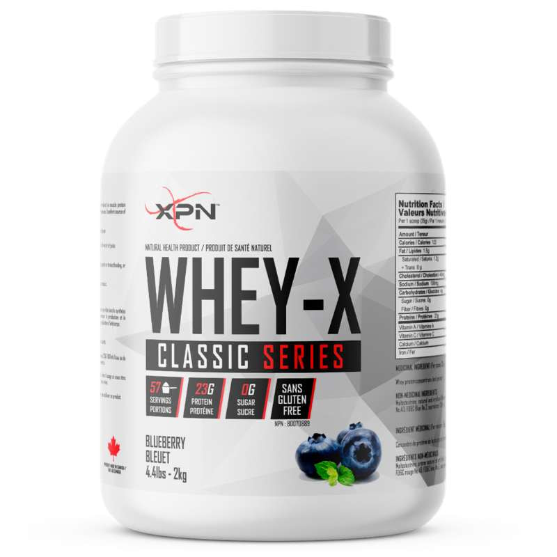 XPN Whey X blueberry - 4.4lb