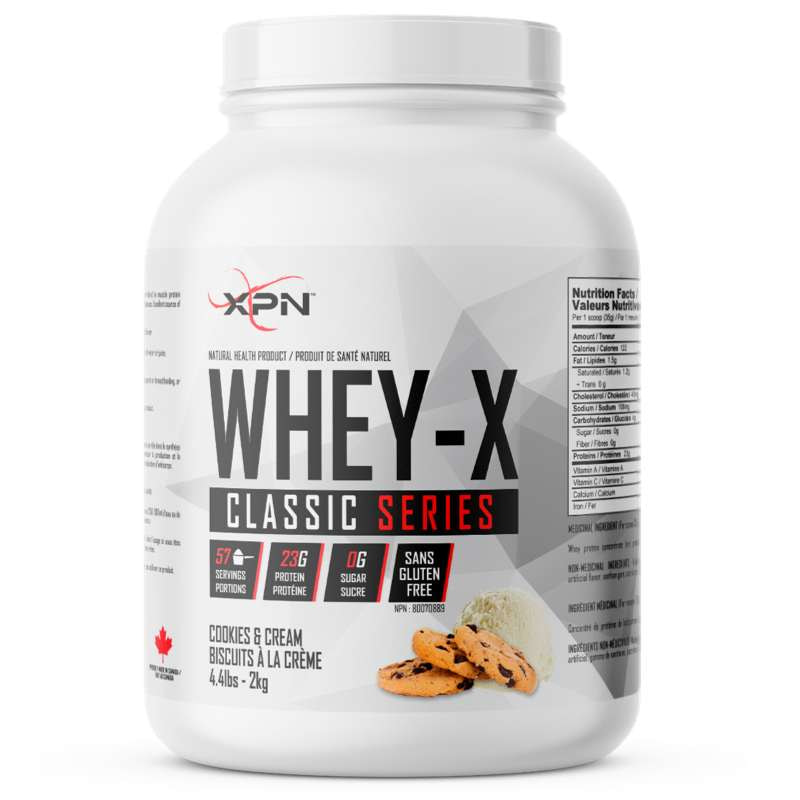 XPN Whey X cookies & Cream - 4.4lb