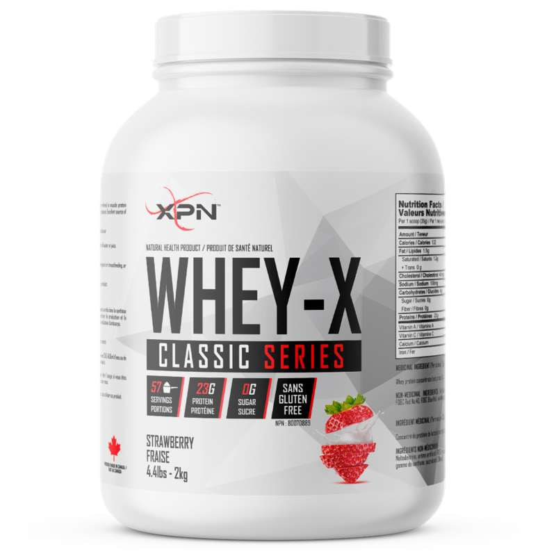 XPN Whey X strawberry - 4.4lb