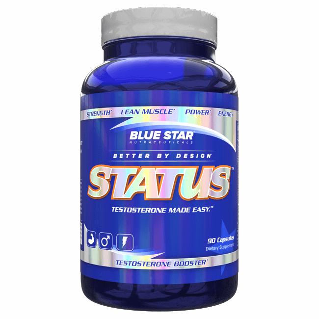 Blue Star Status - 90 caps
