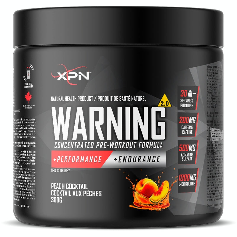 xpn warning 2.0 peach cocktail