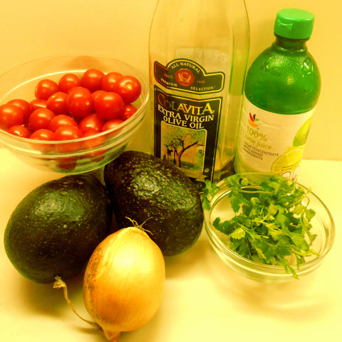 Avocado Salad Ingredients